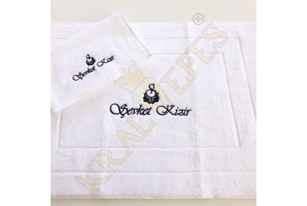 Size Özel Logo Nakışlı Pedikür Havlusu